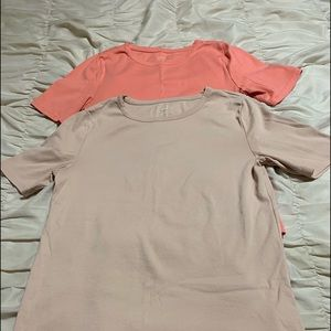 J.Crew Perfect Fit T- Shirts Size L